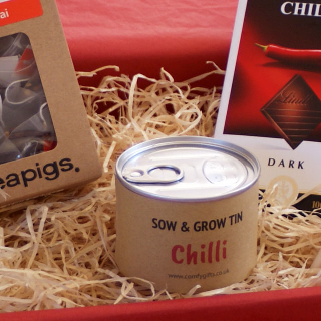 Chilli boosting get well gift ideas UK delivery