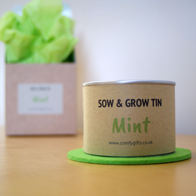 Mint grow your own gift set